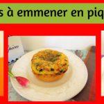 3 recettes à emmener en pique-nique (Recettes à la Une)