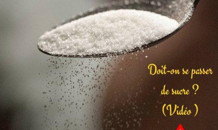 Doit-on se passer de sucre ? (Vidéo)