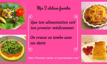 Mes 2 citations favorites