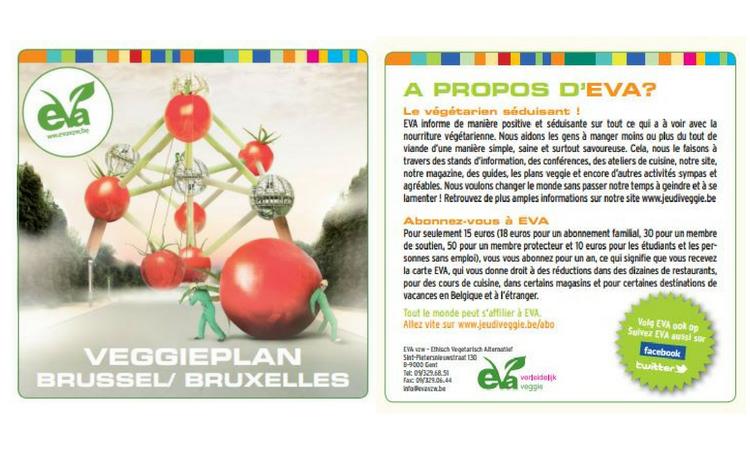 Un Bruxellois sur 3 mange régulièrement Veggie