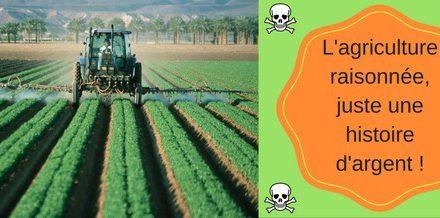 L'agriculture raisonnée, juste une histoire d'argent !