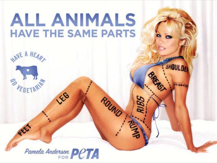 Pamela Anderson vous invite à devenir végétarien
