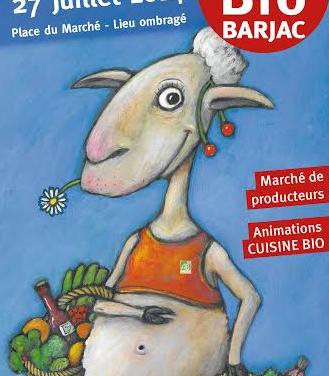 Rendez-vous à Barjac pour sa 10ème Foire Bio, le 27 juillet 2014