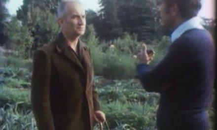 Le jardin biologique de Louis de Funès en 1972 (Vidéo)