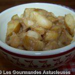 Compotée de Pommes au Caramel crémeux vegan et à la Cannelle (Recette à la Une)