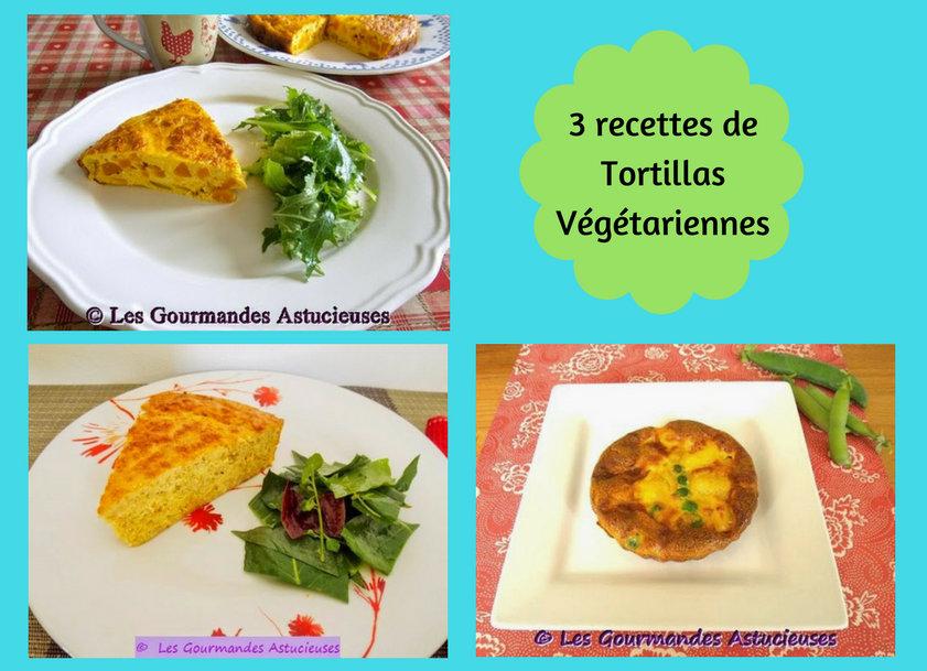 3 recettes de Tortillas Végétariennes (Recettes à la Une)