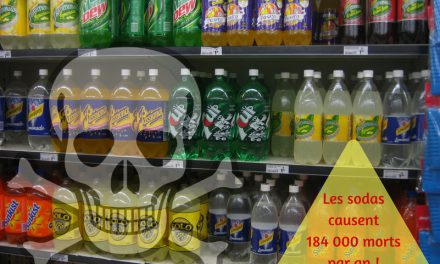 Les sodas causent 184 000 morts par an