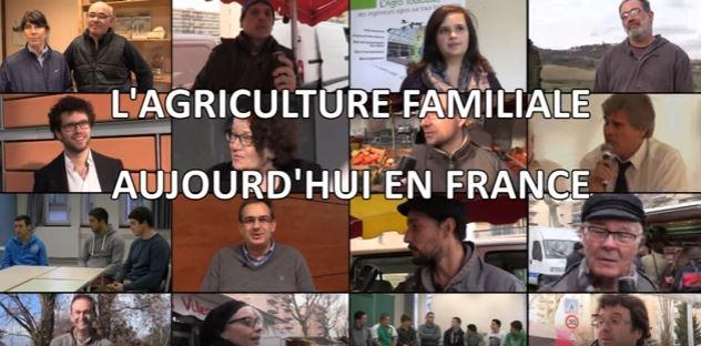 L'agriculture familiale en France, quel avenir ? (Vidéo)