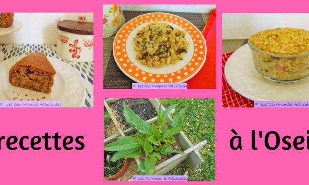 3 recettes à l'Oseille (Recettes à la Une)