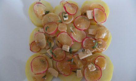 Pommes de terre et radis en marinade (Recette à la Une)