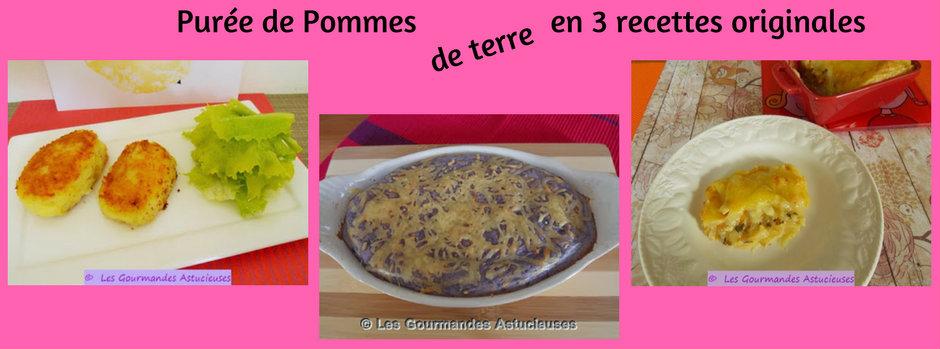 La Purée de pommes de terre en 3 recettes originales (Recettes à la Une)