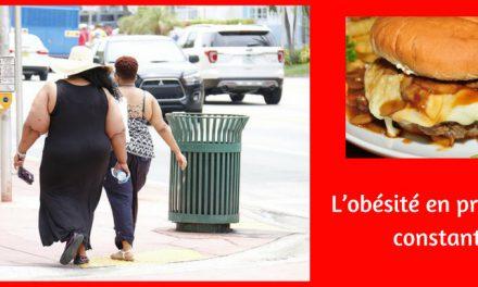 L'obésité en progression constante !
