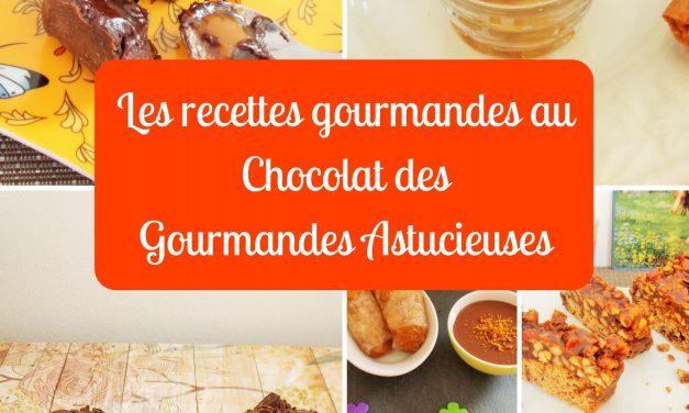 «Les recettes gourmandes au Chocolat des Gourmandes Astucieuses», mon nouveau livre !