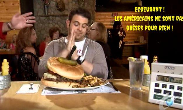 Ecoeurant ! Les Américains ne sont pas obèses pour rien ! (Vidéo)