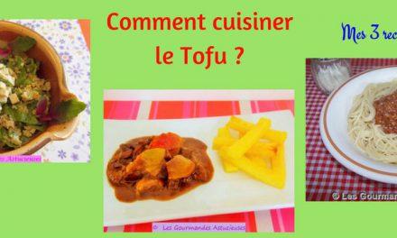 Recettes saines et gourmandes manger sainement tout en - Cuisiner le tofu nature ...