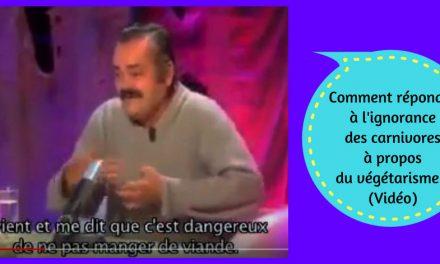 Comment répondre à l'ignorance des carnivores à propos du végétarisme ? (Vidéo)