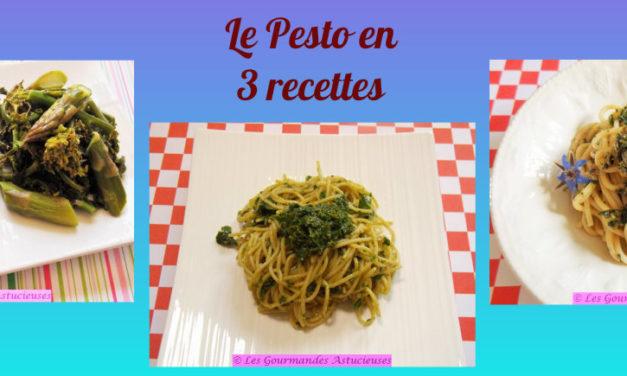 Le Pesto en 3 recettes (Recettes à la Une !)
