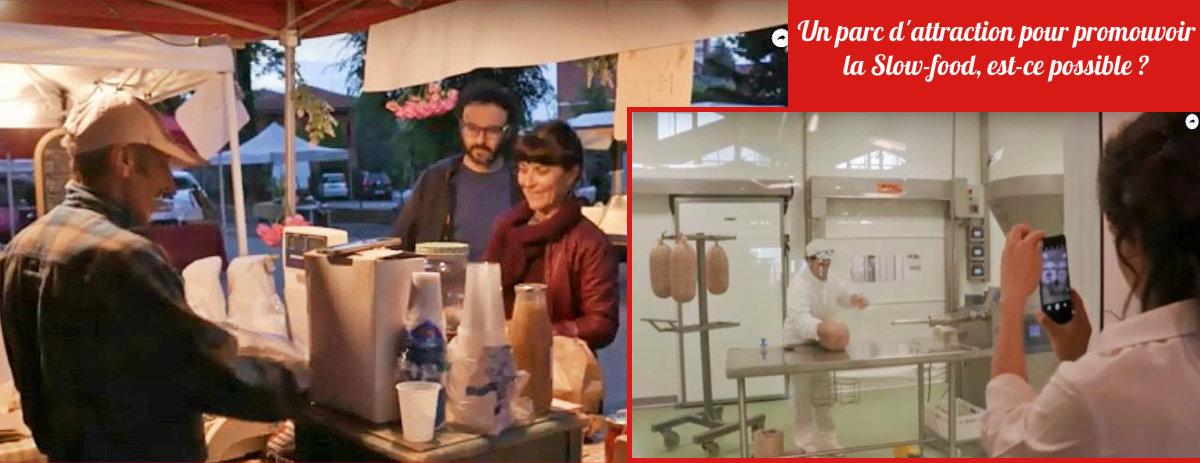 Le parc d'attraction culinaire Slow-food en Italie (Vidéo)