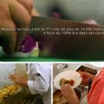 Une cantine bio et local à 100 %, c'est possible ! (Vidéo)