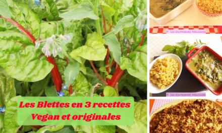Les Blettes en 3 recettes Vegan et originales