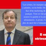 «Il n'y a plus de mort lié à l'alimentation», selon Richard Girardot (Actu)