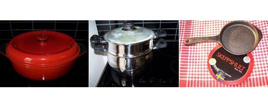 Mes modes et mes ustensiles de cuisson préférés