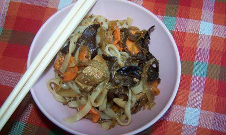 Tofu et pâtes à la chinoise (Recette à la Une)
