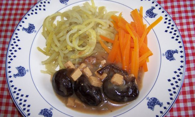 Les Spaghettis de légumes (Recette à la Une)