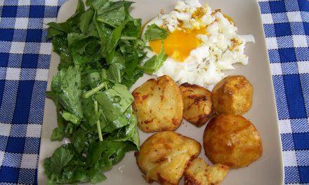 Pommes de terre sautées dans moins d'1 cuillère à soupe d' huile ! (Recette à la Une)