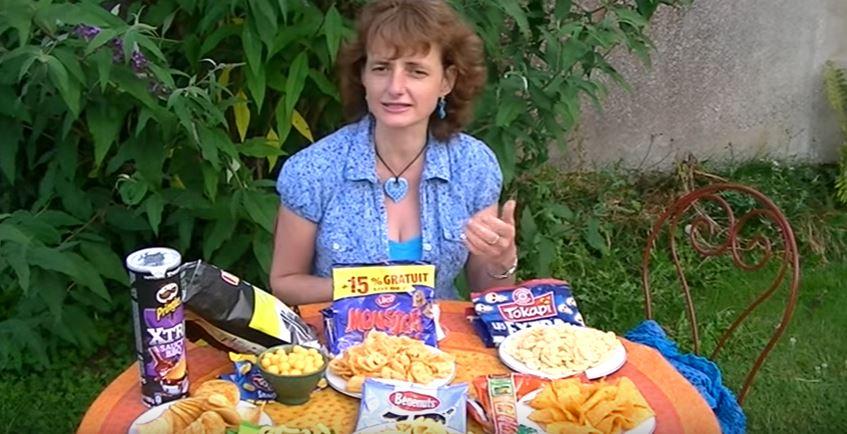 Chips aromatisées : attention danger ! (Vidéo)