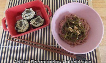 Repas japonisant improvisé (Vegan)