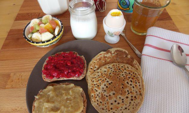 Qu'est-ce que vous mangez au petit-déjeuner ?