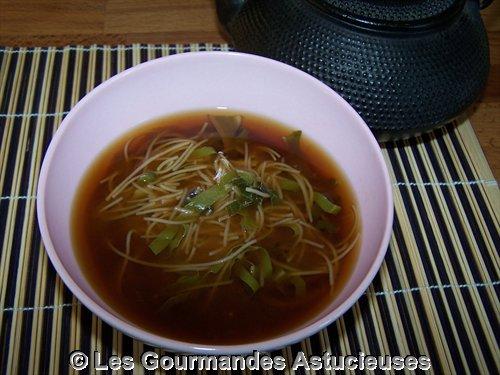 Soupe Miso à la Consoude et aux Blettes (Recette à la Une )