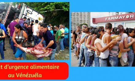 Etat d'urgence alimentaire au Vénézuéla