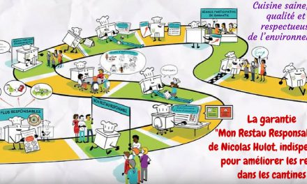 Une restauration collective « Restau responsable® » avec Nicolas Hulot (Vidéo)