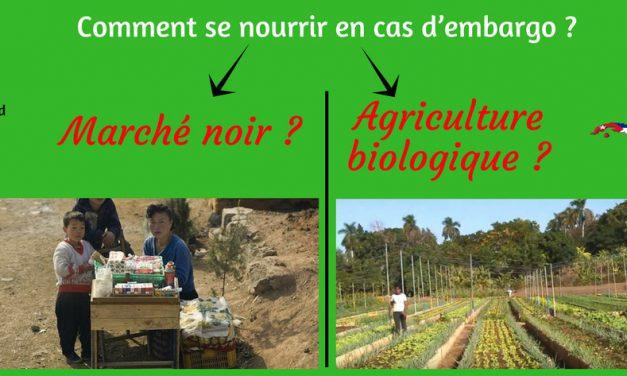 Comment se nourrir en cas d'embargo ? Marché noir ou agriculture biologique ?