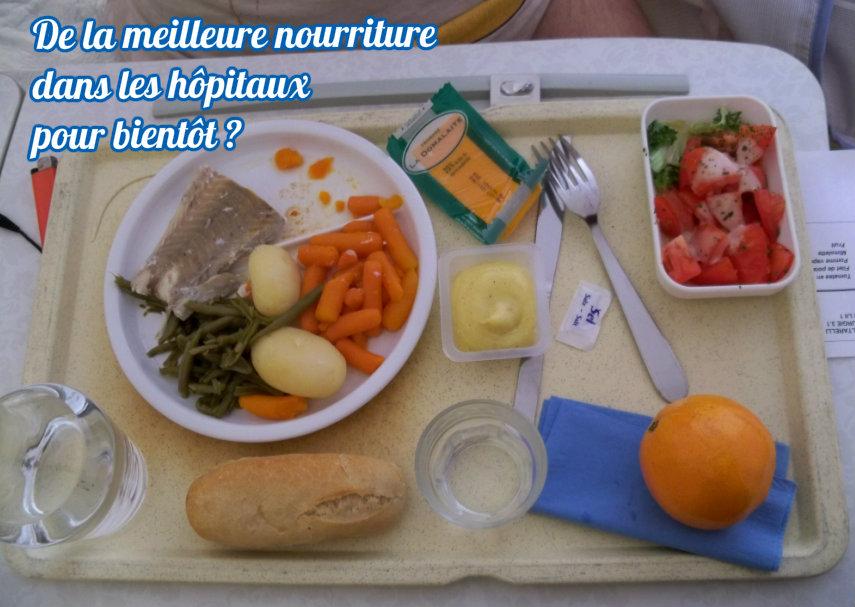 De la meilleure nourriture dans les hôpitaux pour bientôt ? (Actu)