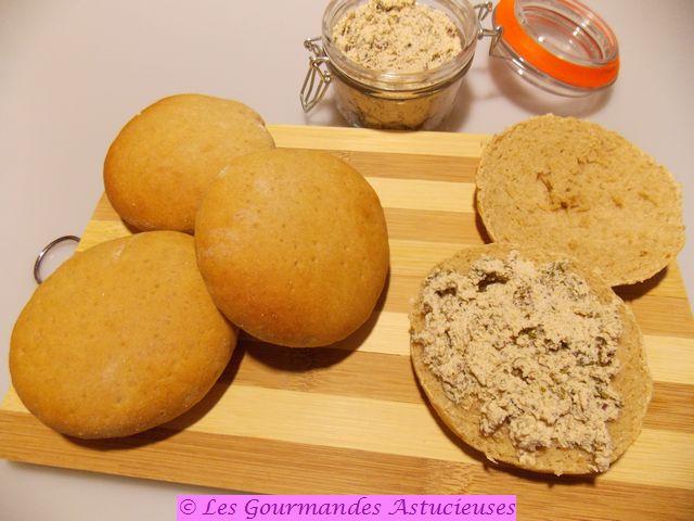 Petits pains polaires ultra-moelleux et Pâté végétal aux algues (Vegan)