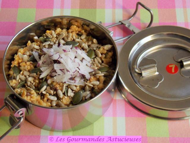 Salade Vegan de lentilles et de boulgour améliorée (Accommoder les restes)