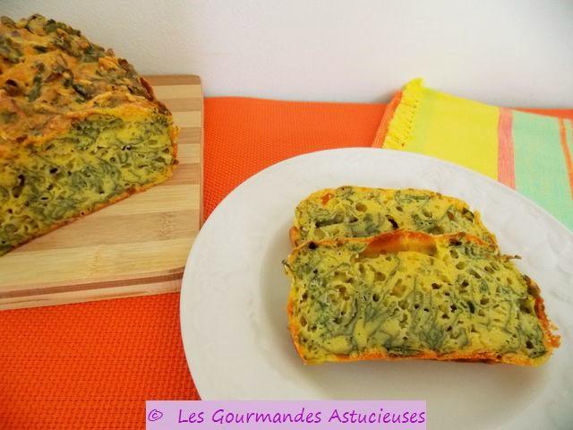 Cake aux orties (Végétarien) 3366