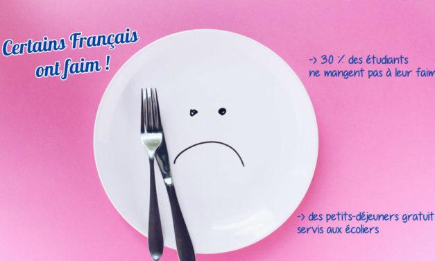 Certains Français ont faim !
