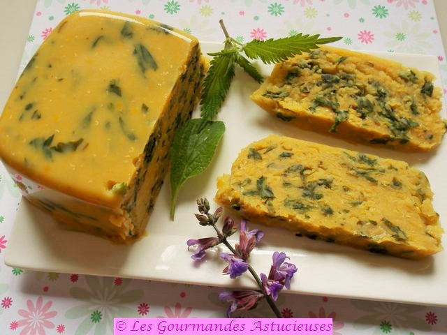 Terrine végétale lentilles, orties et bourrache (Vegan) 8311