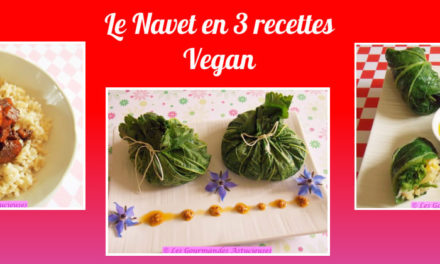 Le Navet en 3 recettes Vegan
