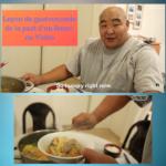 Leçon de gastronomie de la part d'un Sumo (Vidéo)