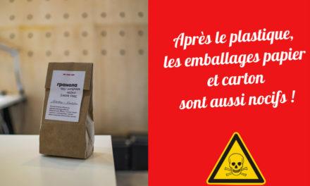 Après le plastique, les emballages papier et carton sont aussi nocifs !