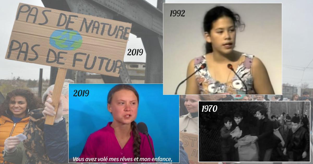 Ecologie : avant Greta Thunberg, il y a eu Severn et bien d'autres ados !
