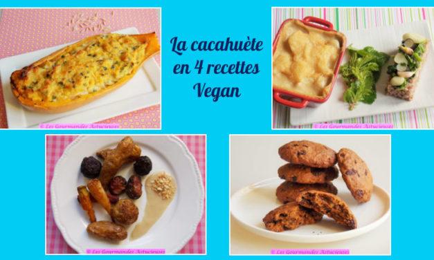 La cacahuète en 4 recettes Vegan