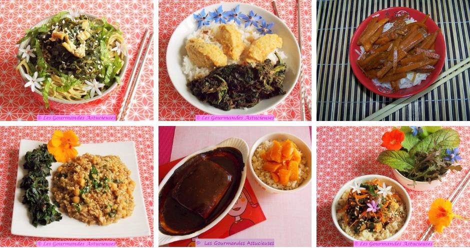 Pour fêter le Nouvel An chinois (Vegan)